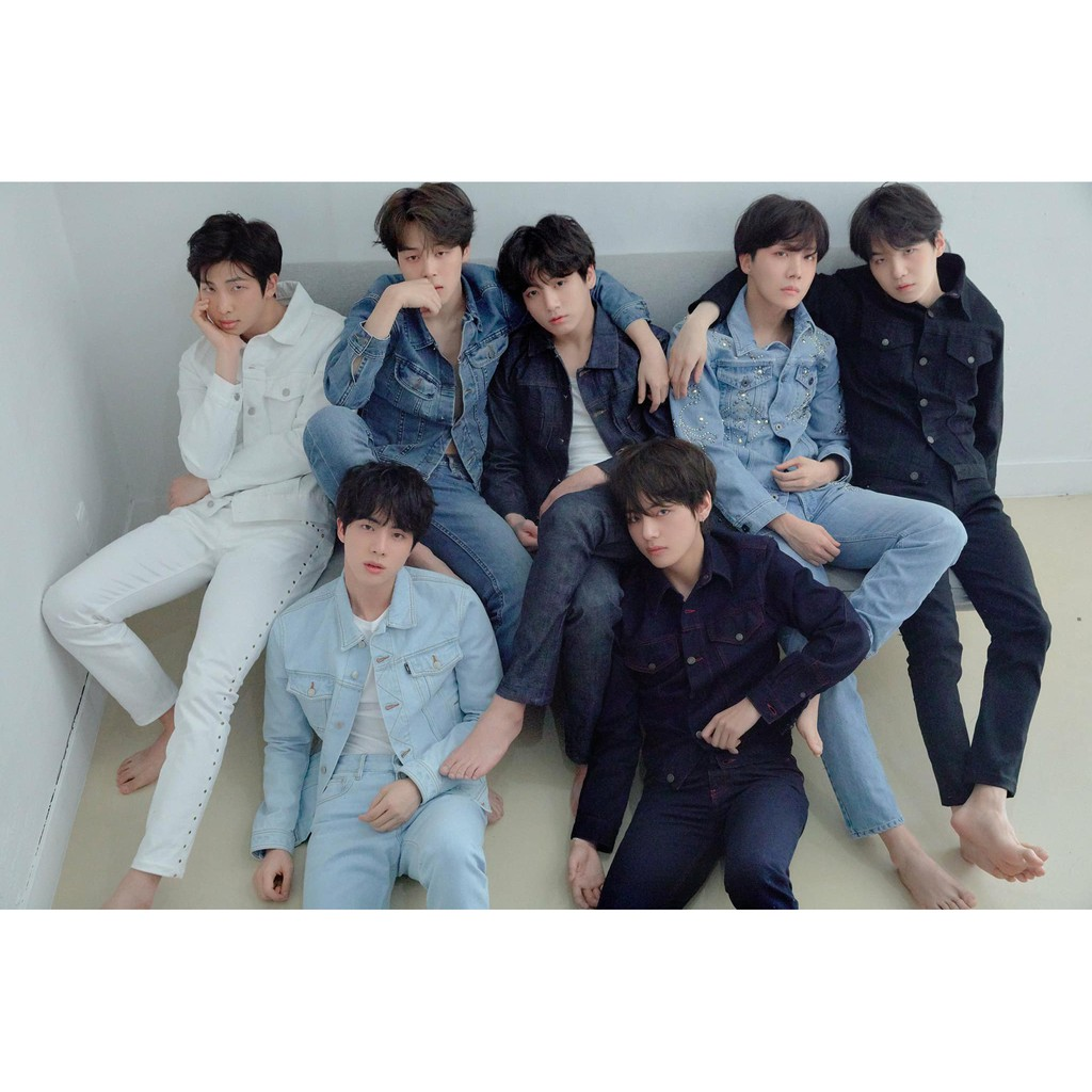 [ORIGINAL] BTS LOVE YOURSELF TEAR POSTERS LIMITED EDITION