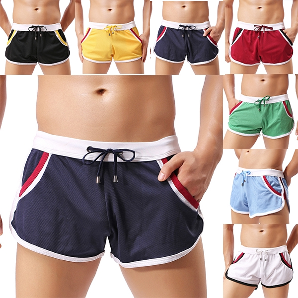 Mens Breathable Shorts Cargo Swim Gym Sports Running Casual Loose Short Pants
