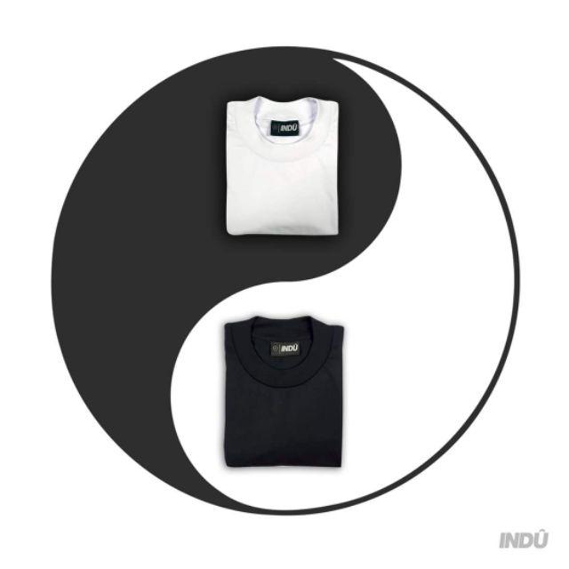 Crewneck Shirt Plain Black