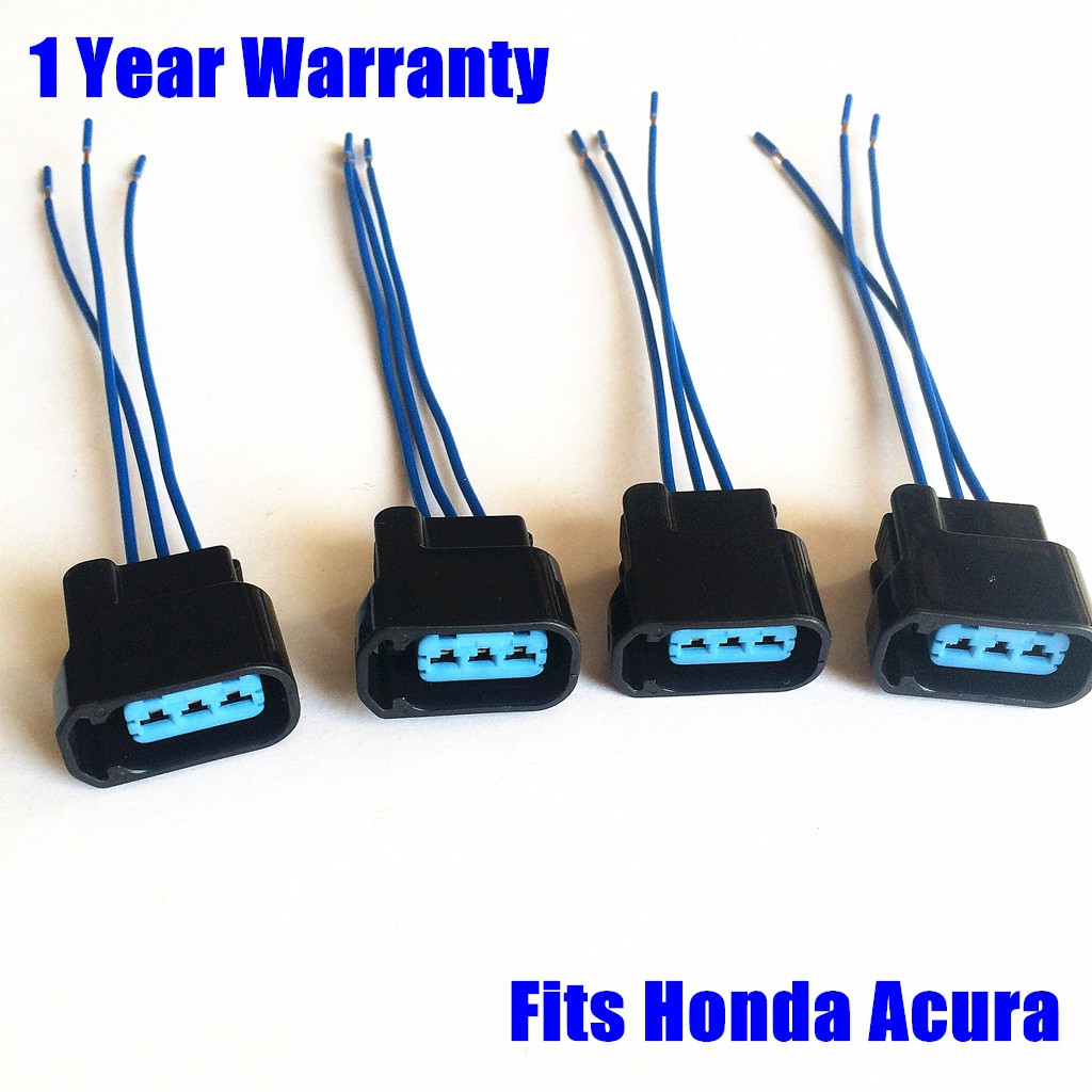 Ignition coil pack plug connector for Honda Civic Accord Odyssey 4 Wire  harness Acura RL TL RSX CSX CRV ELEMENT K20 K24 F22C S2000 | Shopee  Philippines | Acura Rl Wiring Harness Ends |  | Shopee