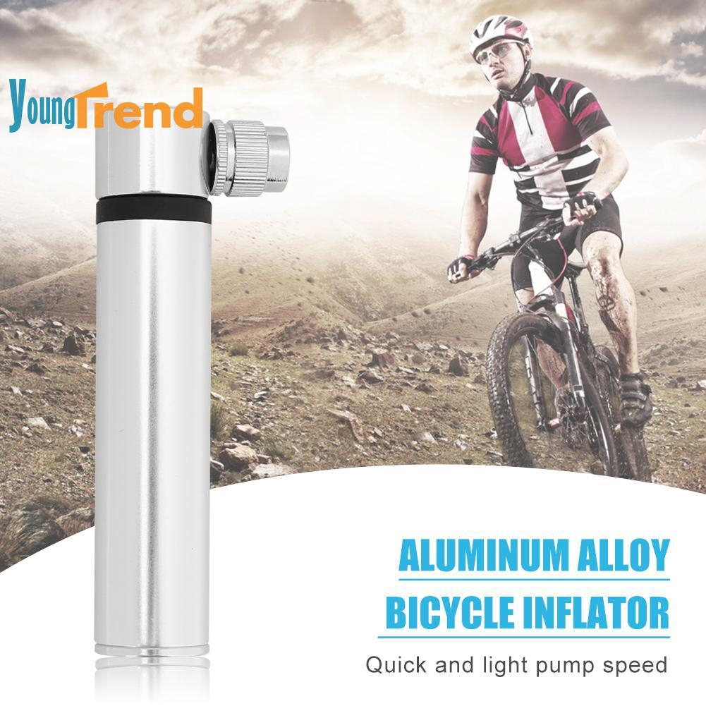 Aluminum Alloy Portable MTB Road Bicycle Air Pump Bike Tire Inflator Tool Kit