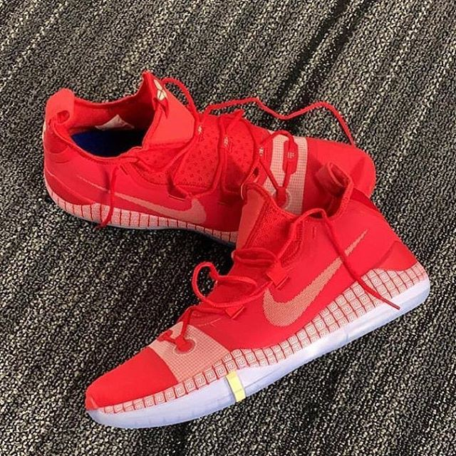 Nike Kobe Ad Exodus Red Multi Color Men S Basketball Shoes Shopee Philippines