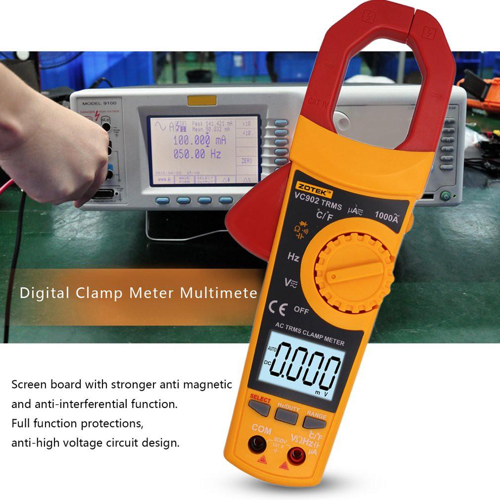 PEAKMETER PM8236 Multifunctional Digital Clamp Multimeter Resistance | Shopee Philippines