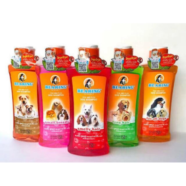 Bearing Tick and Flea Shampoo for Dogs & Cats