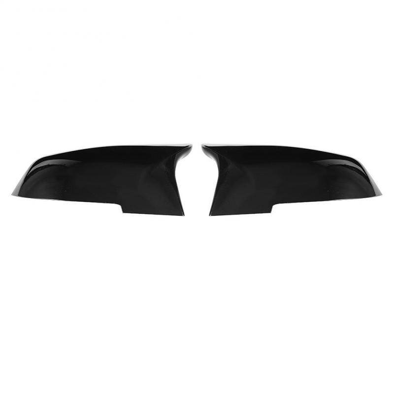 Gorgeri 1 Pair of Car Rearview Mirror Cover,ABS Plastic Mirror Cover Cap for 220i 328i 420i F20 F21 F22 F30 F32 F33 F36 X1 E84