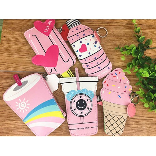03e3ddd103e6 1pcNovelty Ice Cream Bag Pouch Handbags