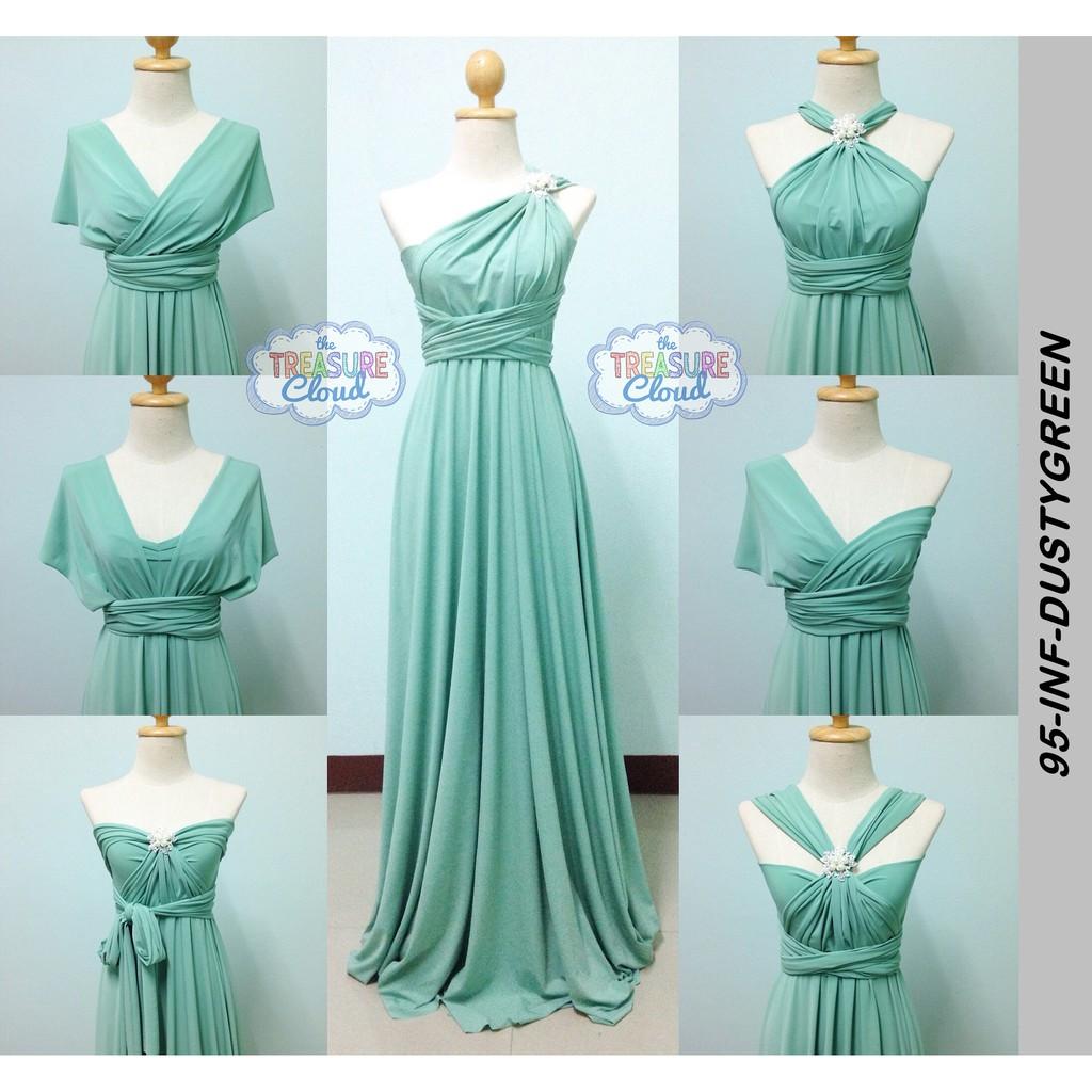 ed61041e1ec (DUSTY GREEN) Infinity Dresses   Bridesmaid Dresses