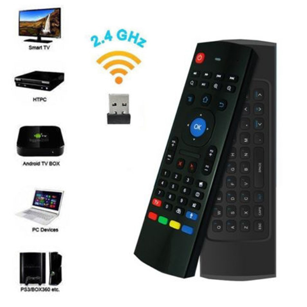 MX3 2 4 G Wireless Remote Control Keyboard Air Mouse For Android PC TV Box  KNYO