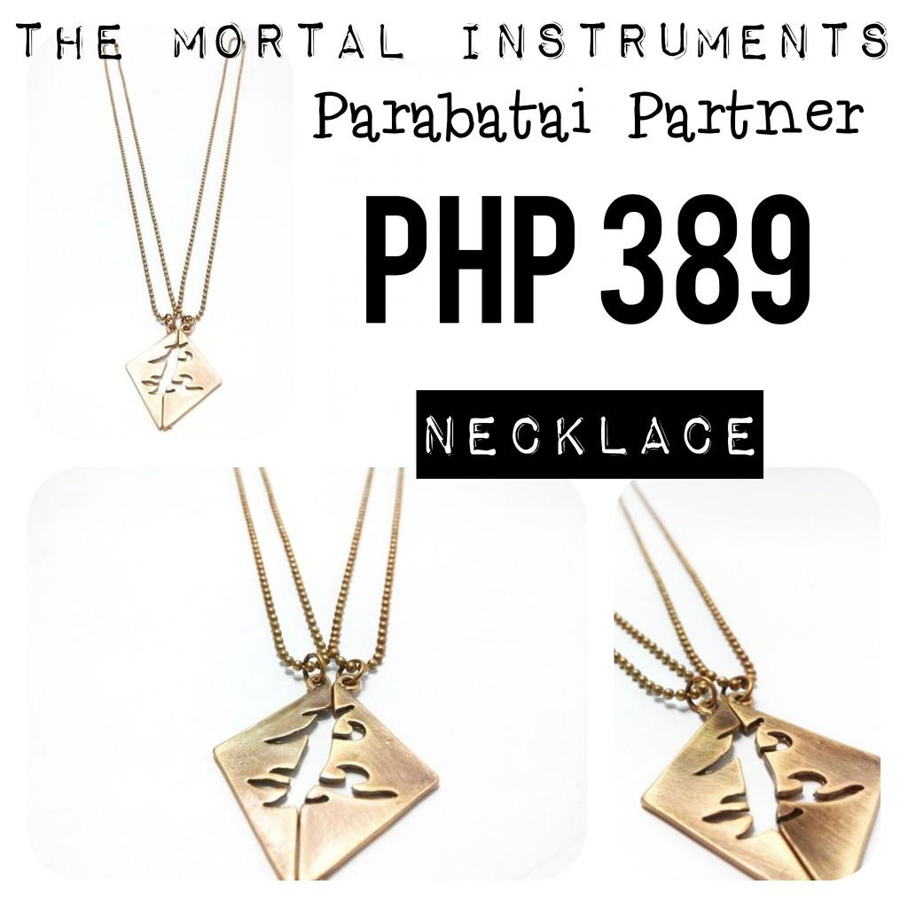 e5723e22d2118 NECKLACE | THE MORTAL INSTRUMENTS: PARABATAI COUPLE