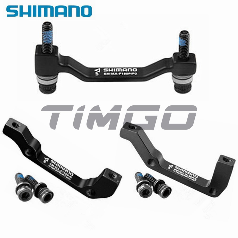 Shimano Disc Brake Adapter SM-MA-F180P//S Post to IS Mount Front 180mm Rotor