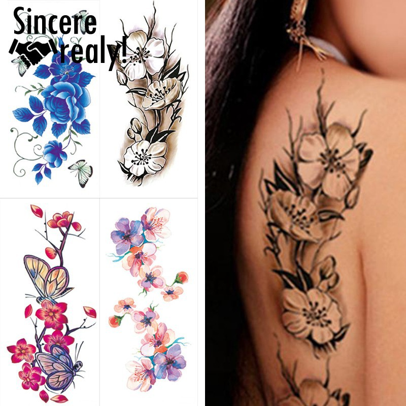40acbbc44ec9d SIN DIY tattoo decal 1 sheet waterproof temporary fake | Shopee Philippines