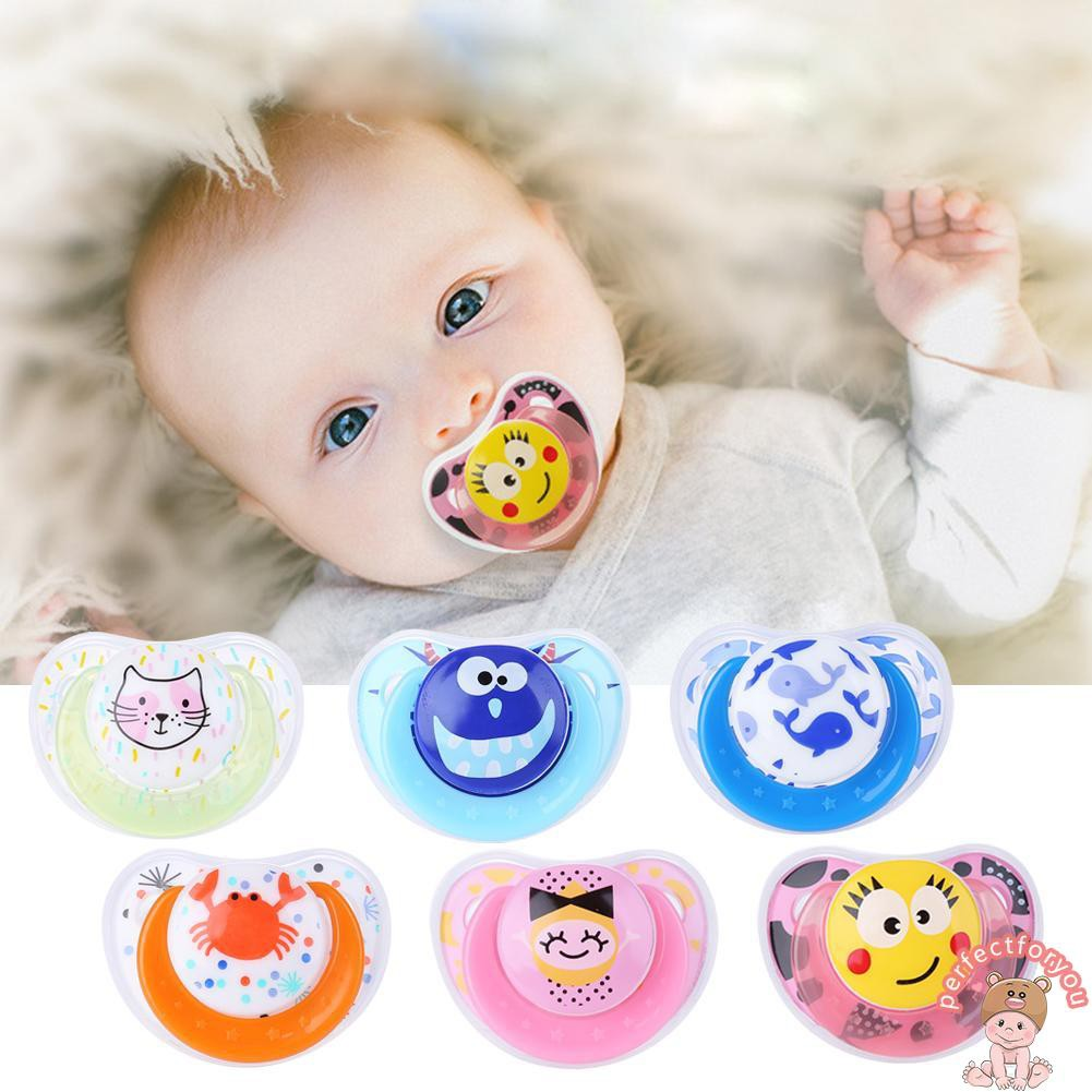 Cute Baby Newborn Pacifier Soother Silicone Dummy Biter Teether Soother Nipple F