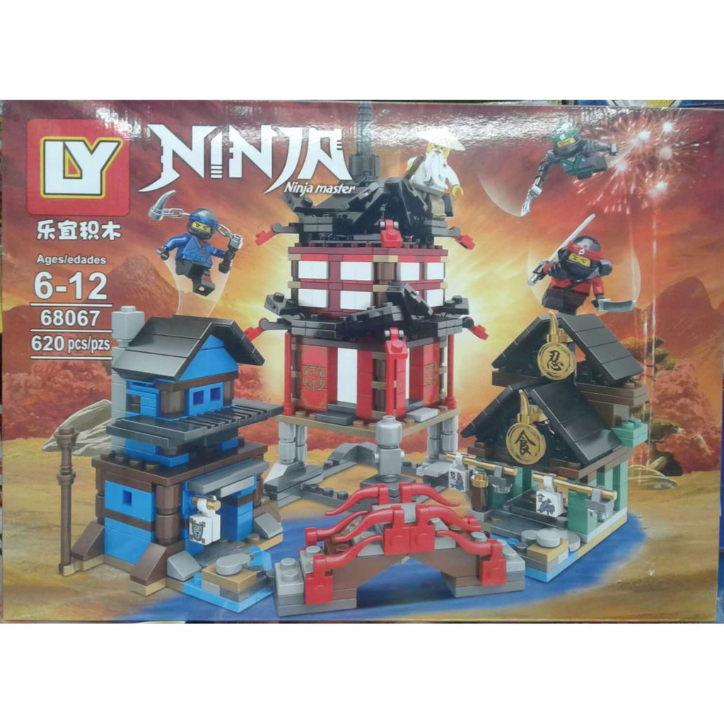 9de839c610 BRICKS NINJA LEPIN 06068 PIRANHA ATTACK | Shopee Philippines