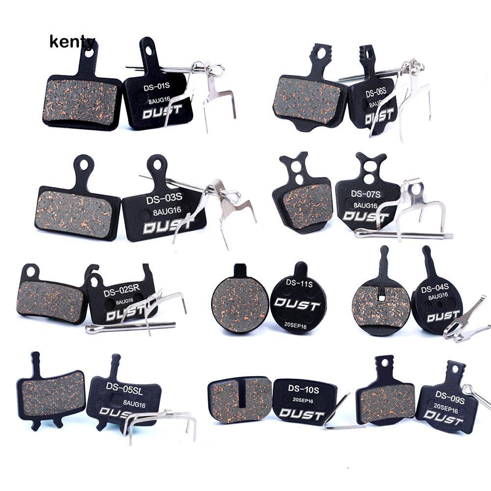 Metallic bicycle Disc Brake Pads For  AVID BB5 2 PAIRS Semi