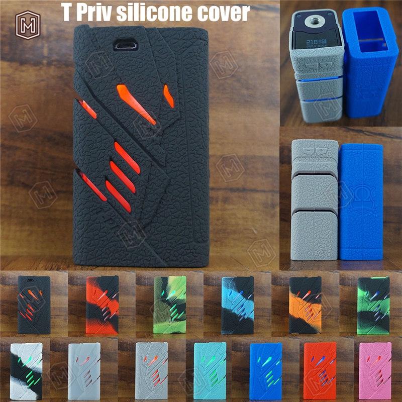 smok T Priv silicone case thicker skin sleeve coverTFV8 Electronic Cig  Starter Kit vape rubber box