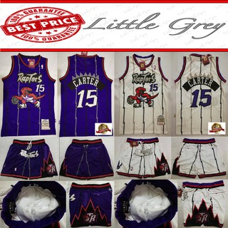 hot sale online 2b580 df869 NBA Toronto Raptors Vince Carter 15 Basketball Jersey (Terno ...