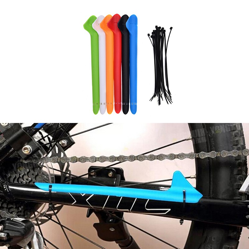 20 pcs Bicycle Sticker Frame Protector MTB Carbon Paint Protection 3 NICE enwrg