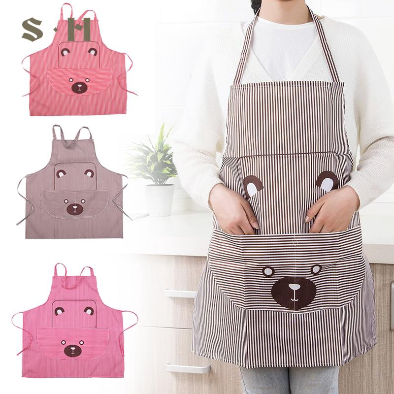 Animal Print Apron Cute Design Pig Sleeveless Water Proof For Cooking Baking New