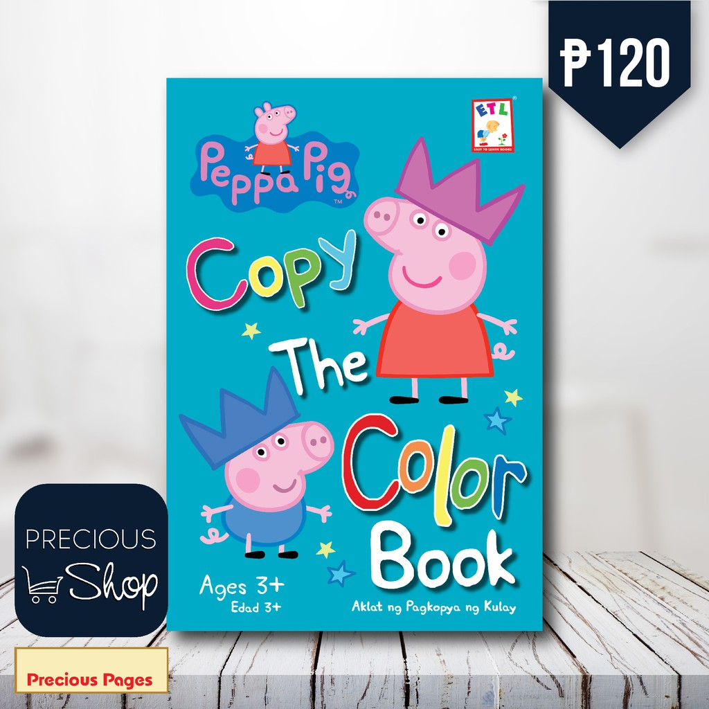 Peppa Pig : Copy The Color Book