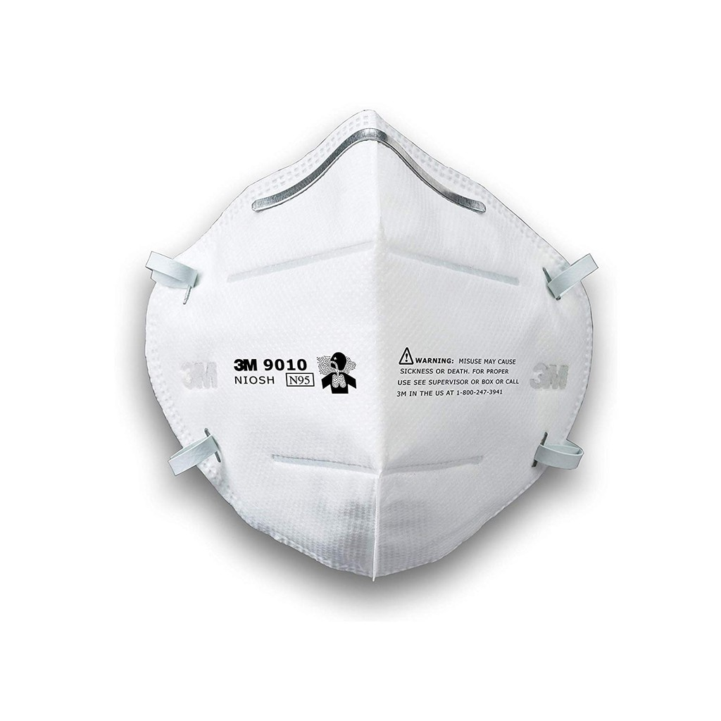 Pieces 10 Folding Respirator Particulate 3m 9010 N95