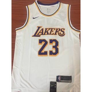 8d29427eea6 hhongyun Nike LeBron James  23 Los Angeles Lakers NBA Jersey white ready  stock