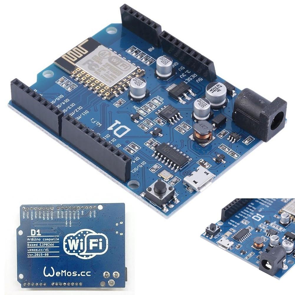 1Pc Wemos D1 Wifi Uno Development Board Esp8266 Esp-12E For Arduino  Compatible