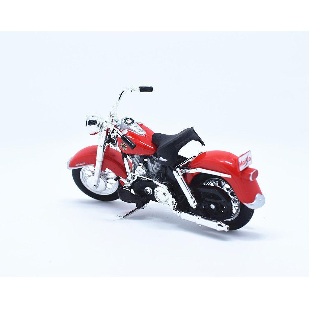 1958 FLH Duo Glide Maisto Moto Modèle 1:18 33 Harley DAVIDSON Modèle