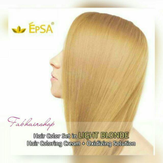 Epsa LIGHT BLONDE hair color 8/0