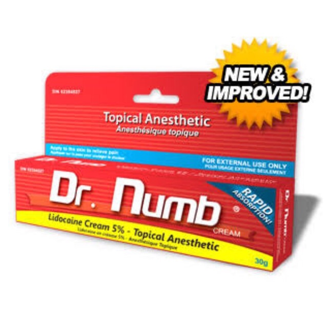 DR NUMB® TOPICAL ANESTHETIC CREAM |5% LIDOCAINE30g