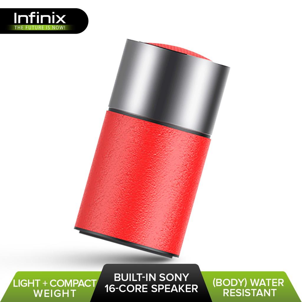 Infinix XS02 Water Resistant Subwoofer Bluetooth Speaker