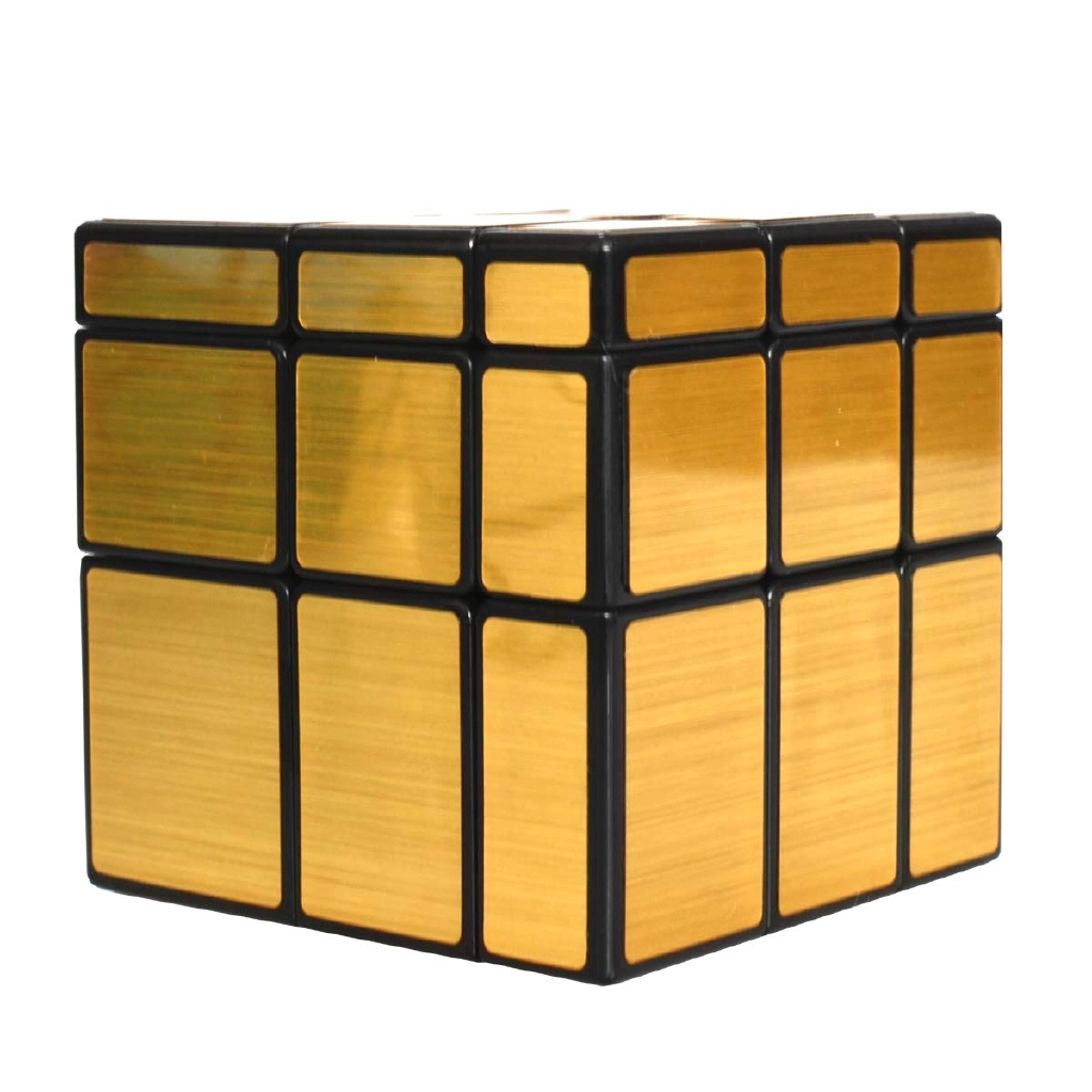 Maomaoyu Mirror Cube 3x3 3x3x3 Smooth Magic Cube Puzzle Education Toys For Kid Gold Shopee Philippines