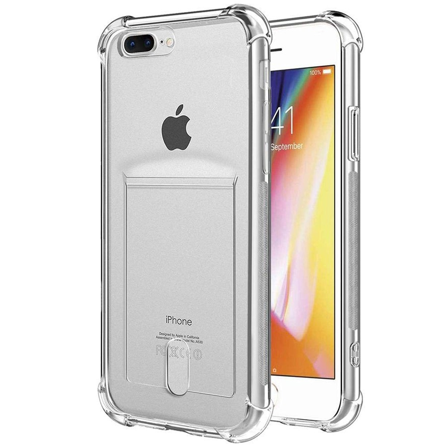 Airbag Card Holder ID Credit Card Cover For iphone XS max X