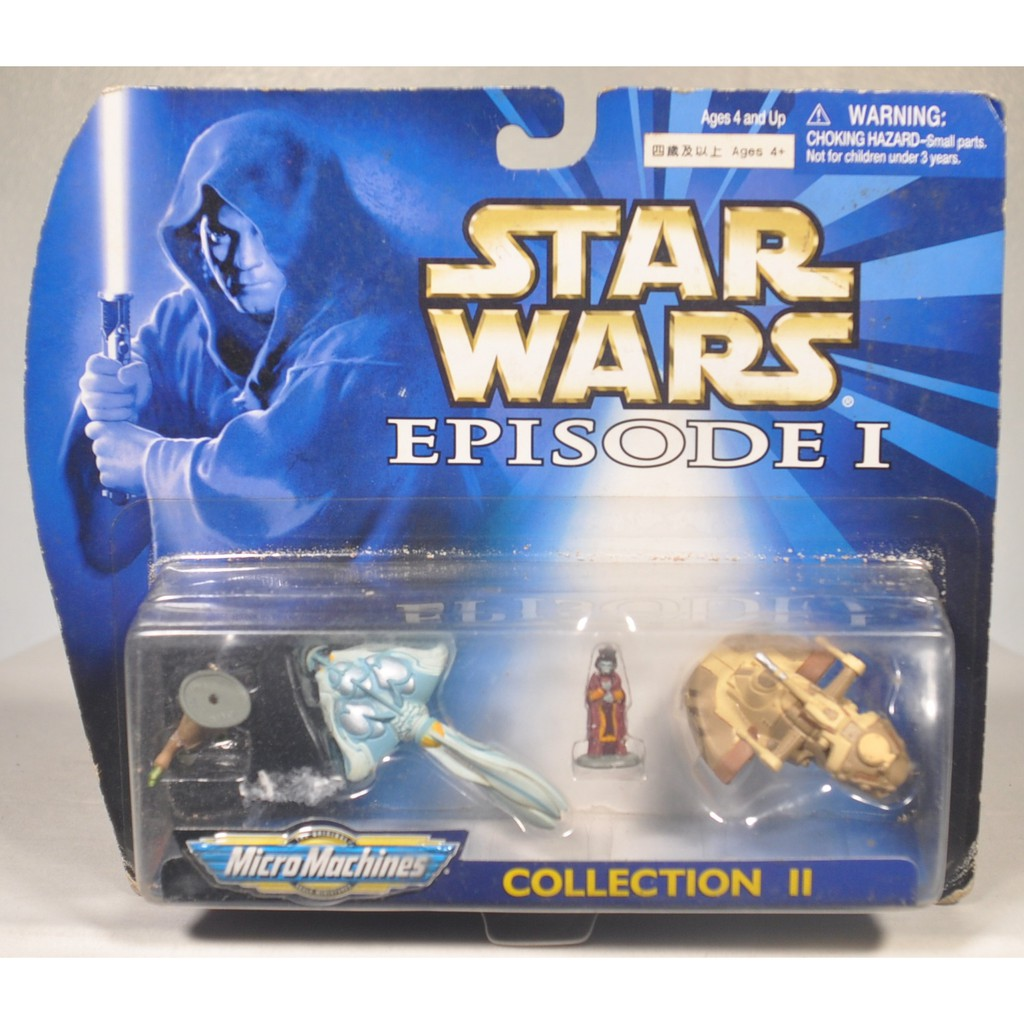 Star Wars Micro Machines Episode I Collection II