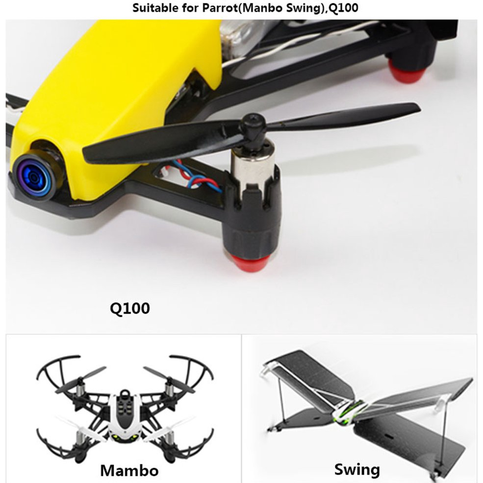 10 Pairs KINGKONG//LDARC 65mm 1.5mm Hole 2-blade Toopick Propeller for RC Drone
