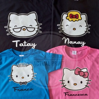 Hello Kitty Customized Shirts