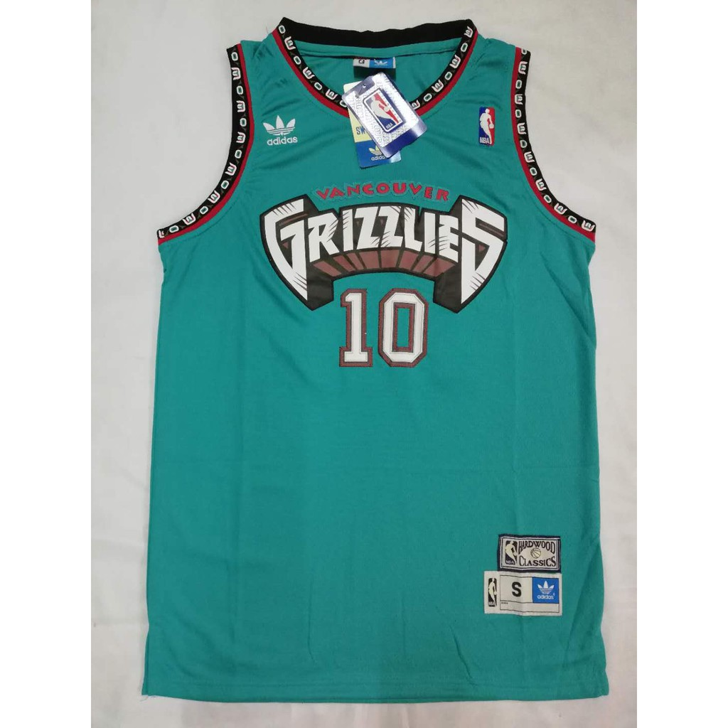14094c8dd NBA Grizzlies 10 Mike Bibby Green Vintage Jersey