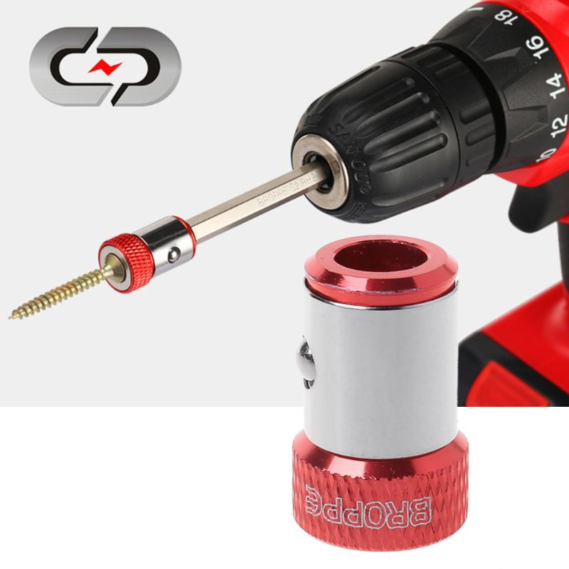 """Magnetic Ring 1//4/"""" 6.35mm Metal Strong Screw Phillips Electric Screwdriver Bits"""
