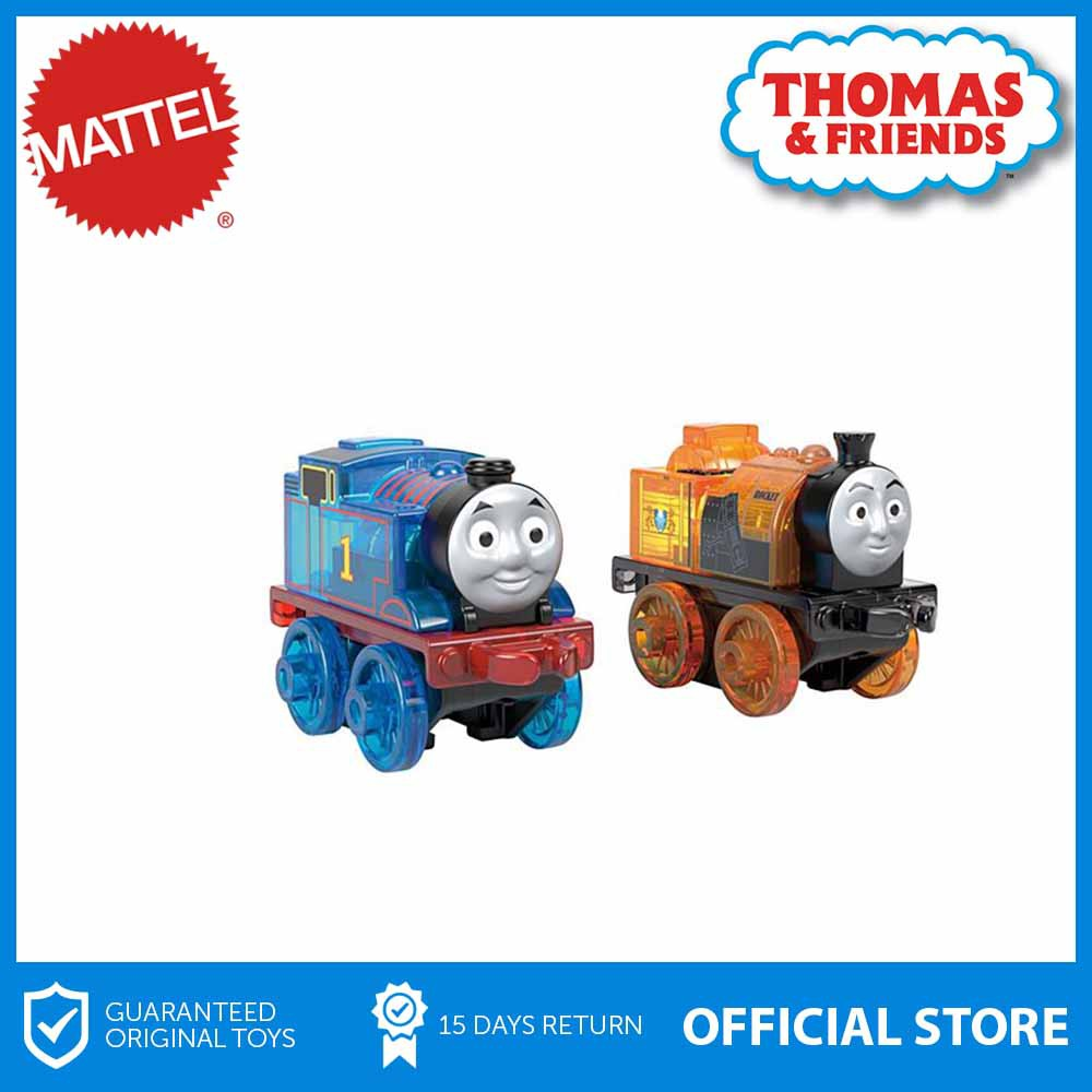 Thomas The Tank Engine /& Friends Minis Mini Light Ups Stephen /& Thomas NEW