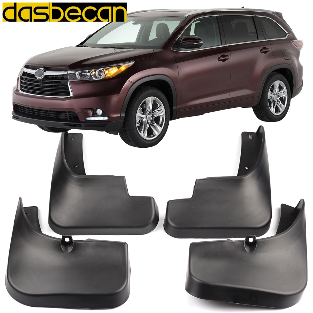 4pcs Plastic Tire Mudguard Splash Guards Mud Flaps For Chevrolet Trax 2014-2019