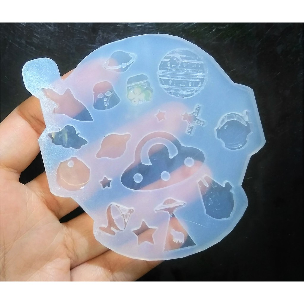 ND/_ Silicone Mold Moon Cloud Star Cake Decorating Chocolate Fondant Mould Tool