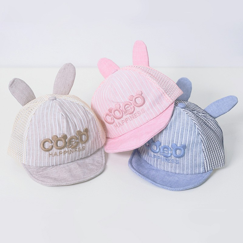 778a5ba59 Infant Children Hat Baby Girl Boy Ear Baseball Cap Sun Hat