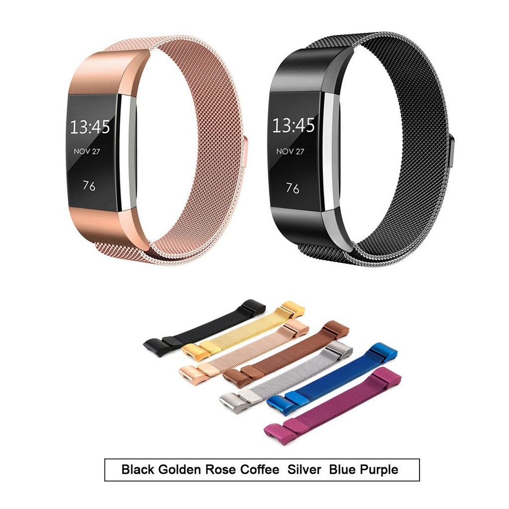 Fitbit Charge 2 Band Magnetic Replacement Wristband