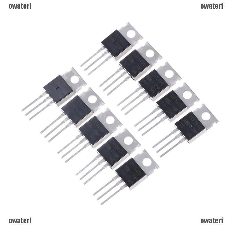 10PCS IRF540N IRF540 TO-220 N-Channel 33A 100V Power MOSFET NEW AM