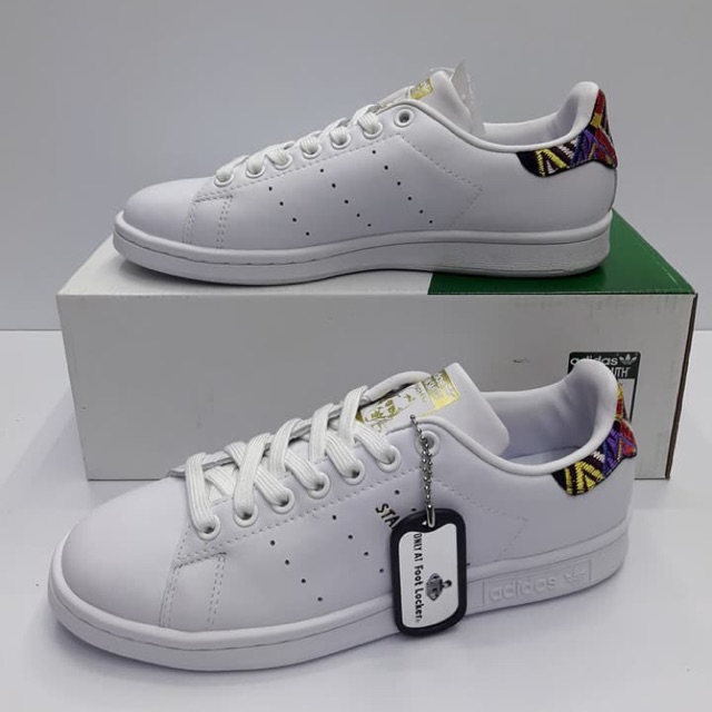 new product 10559 b8bed Adidas Stan Smith White Aztec