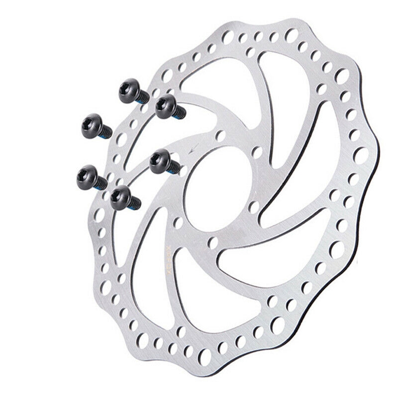 MTB Bicycle 6 Bolts Disc Brake 140//160//180//203mm Mountain Bike Rotor For Sram