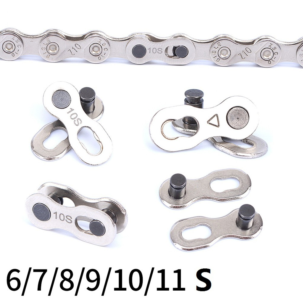 2pcs 12 Speed Bike Chain Connector Lock Set for Quick Link Joint Chain Pin TO