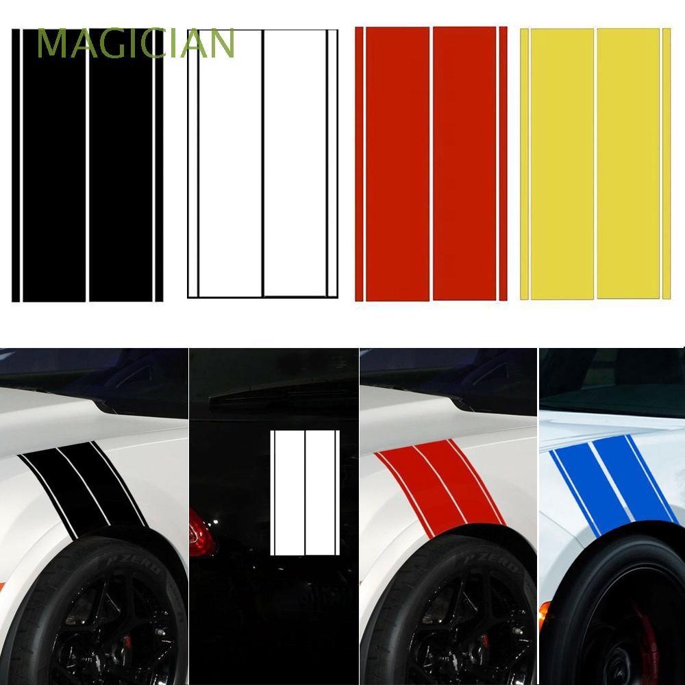 1x Universal Car Truck Fender Hash Stripe Racing Graphic Decal Sticker Set New