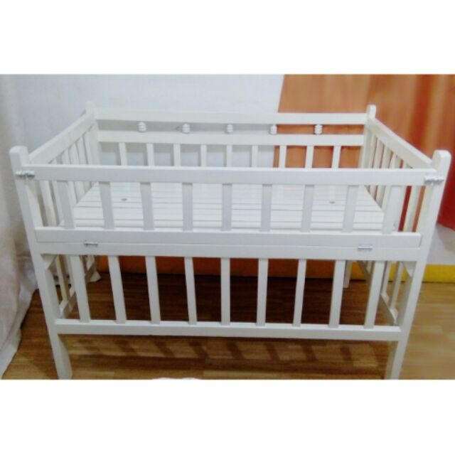 Wooden Crib For Sale Brand New P2800 Shopee Philippines