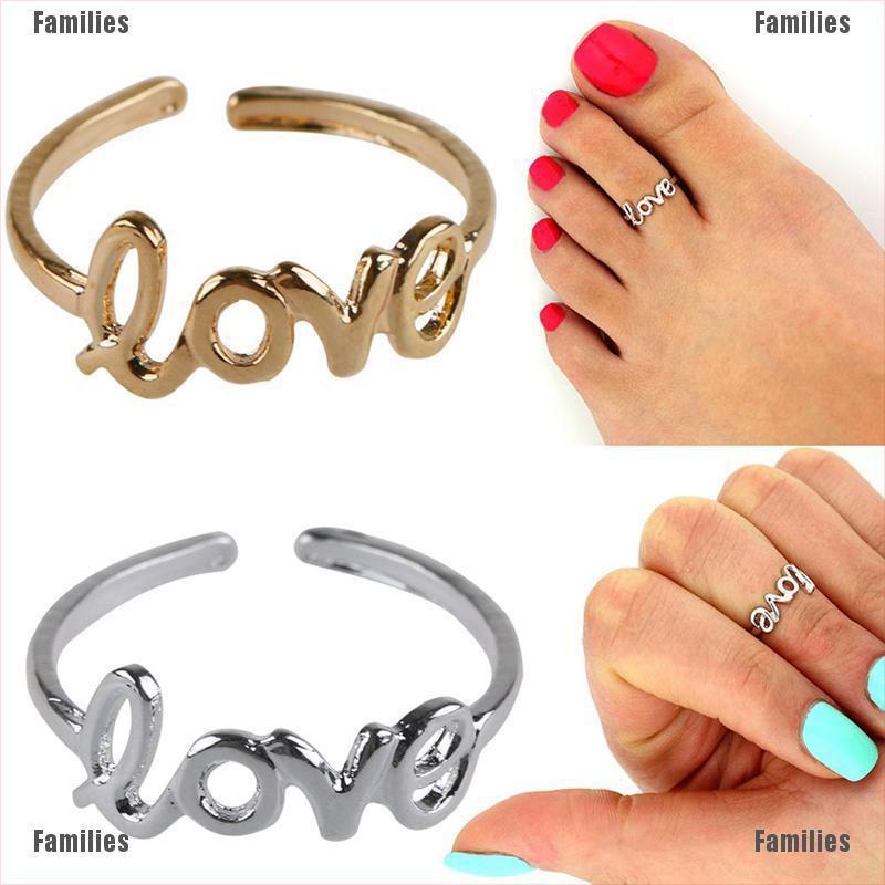 12PCs//set Celebrity Women Fashion Simple Toe Ring Adjustable Foot Beach Jewelry