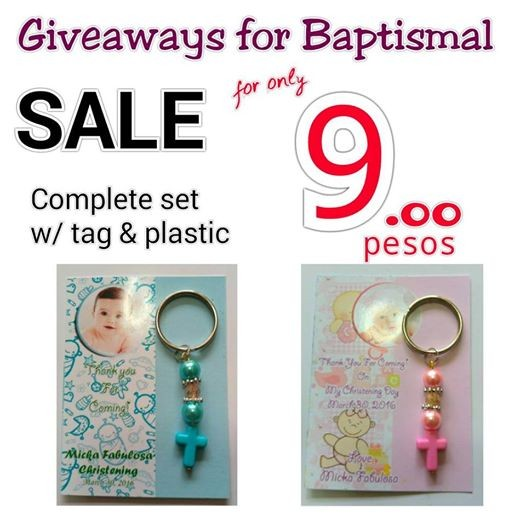 Personalized baptism giveaways in philippines